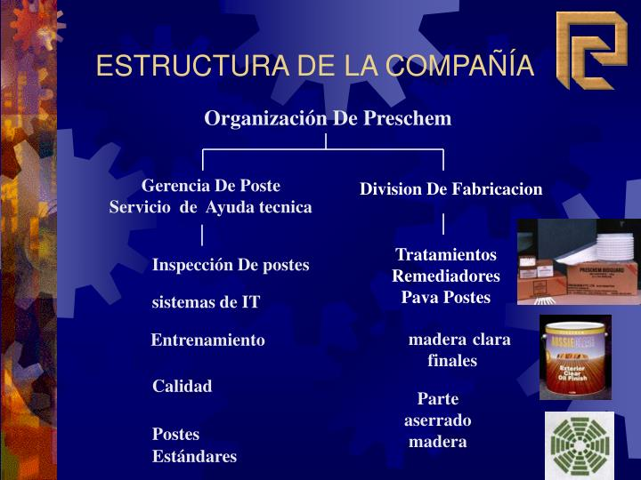 Organización De Preschem