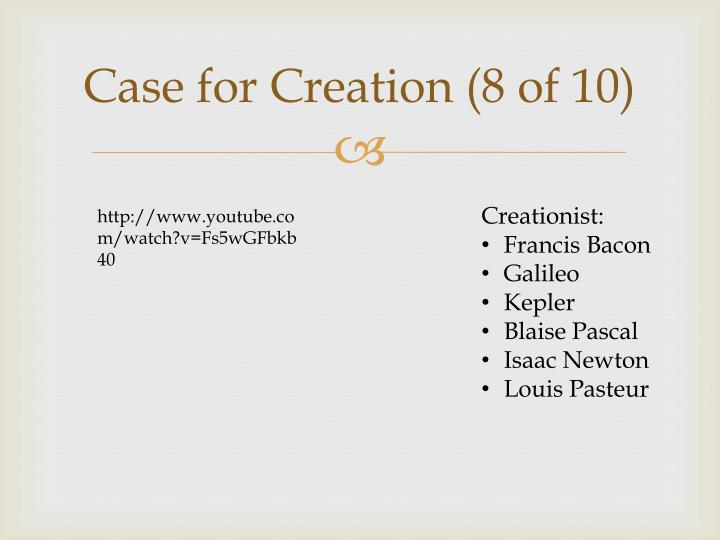 Case for Creation (8 of 10)