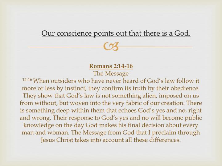 Romans 2:14-16