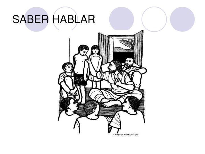 SABER HABLAR