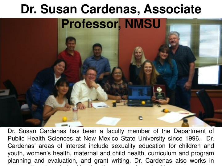 Dr. Susan Cardenas, Associate Professor, NMSU