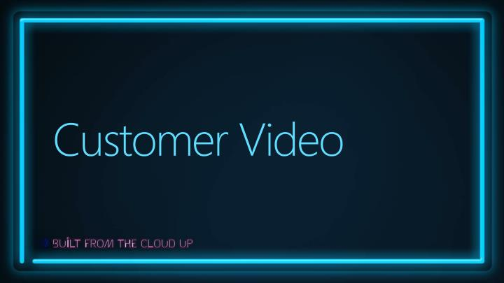Customer Video