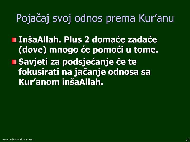 Pojačaj svoj odnos prema Kur'anu