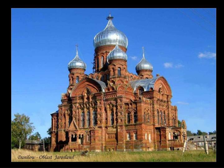 Danilow - Oblast  Jaroslawl