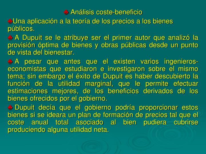 Análisis coste-beneficio