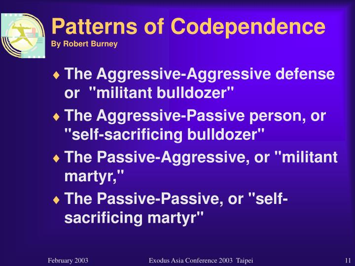 Patterns of Codependence