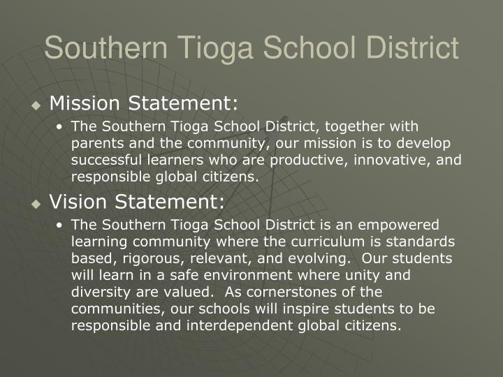 Southern tioga school district