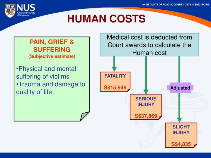 HUMAN COSTS