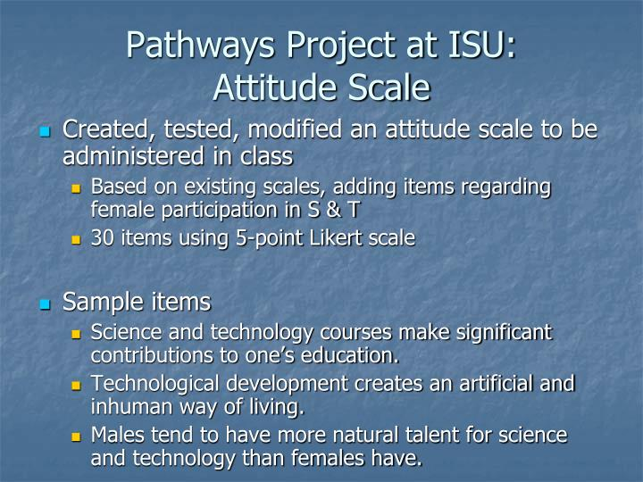 Pathways Project at ISU: