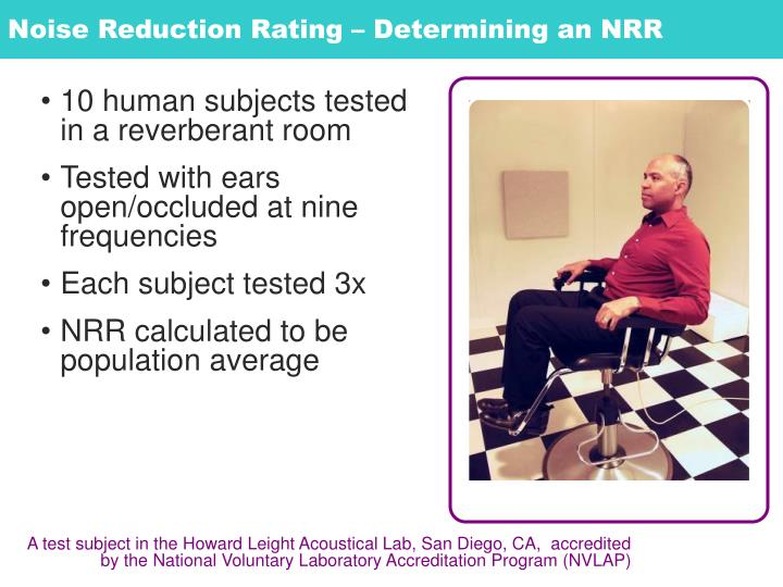 Noise Reduction Rating – Determining an NRR