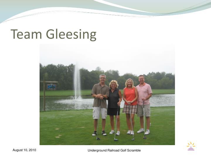 Team Gleesing