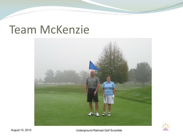 Team McKenzie