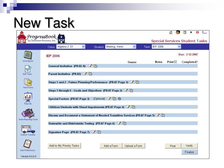 New Task