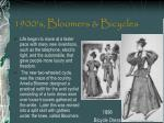 1900 s bloomers bicycles