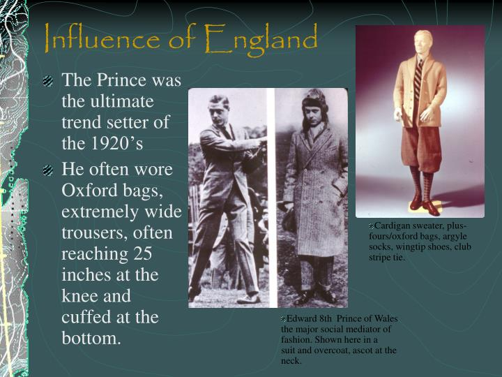 Influence of England