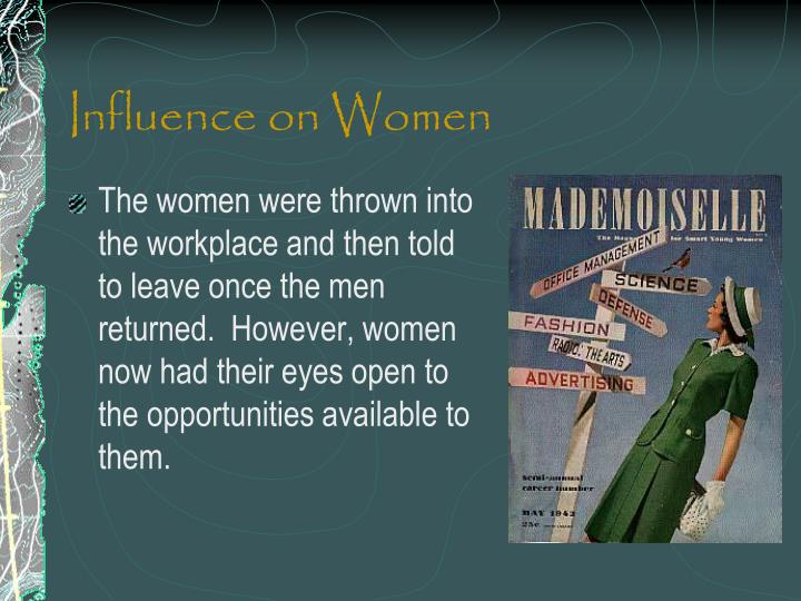 Influence on Women