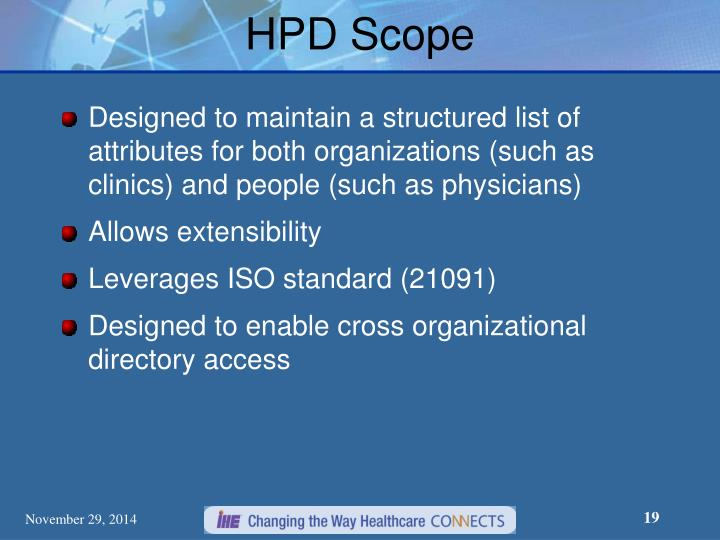 HPD Scope