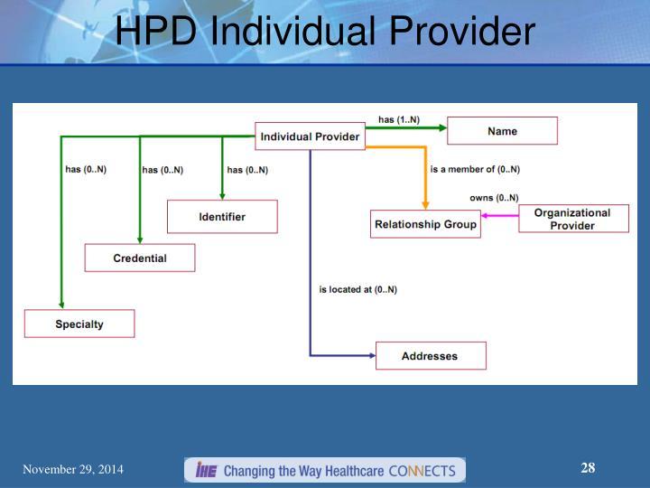 HPD Individual Provider