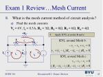 exam 1 review mesh current3