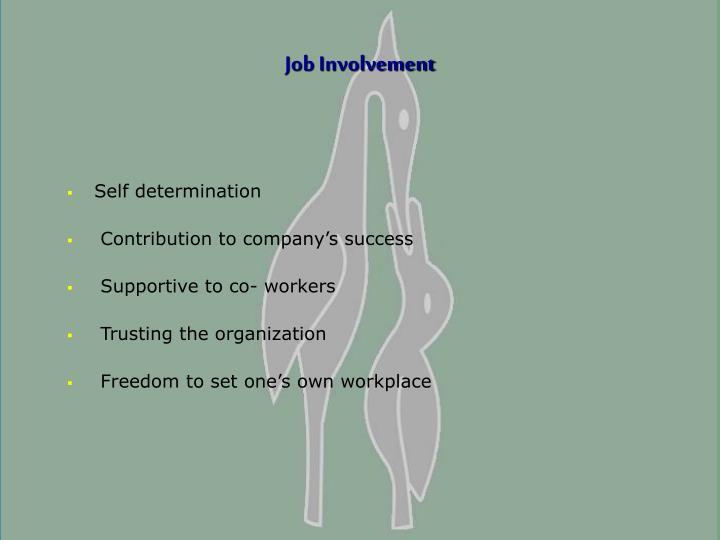 Job Involvement