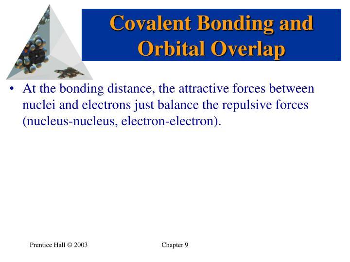 Covalent Bonding and Orbital Overlap