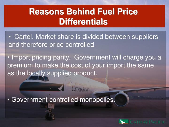 Reasons Behind Fuel Price