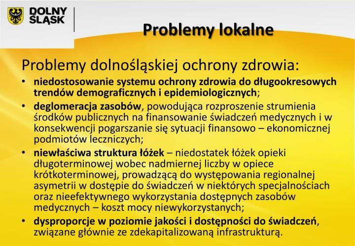 Problemy lokalne