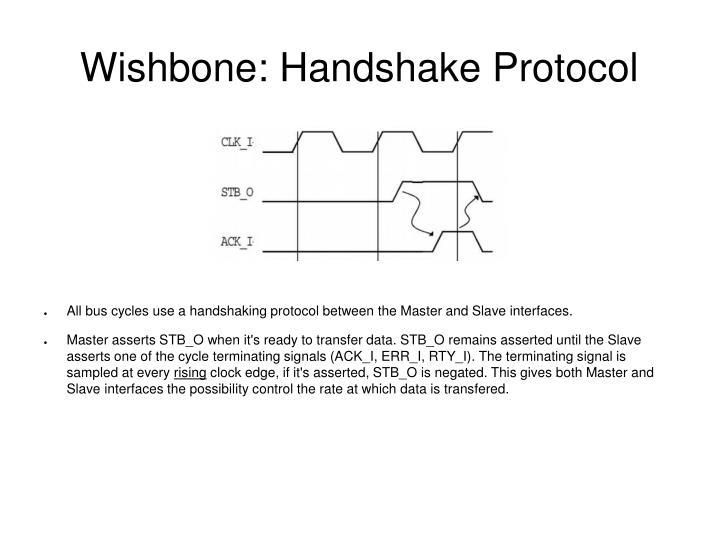 Wishbone: Handshake Protocol