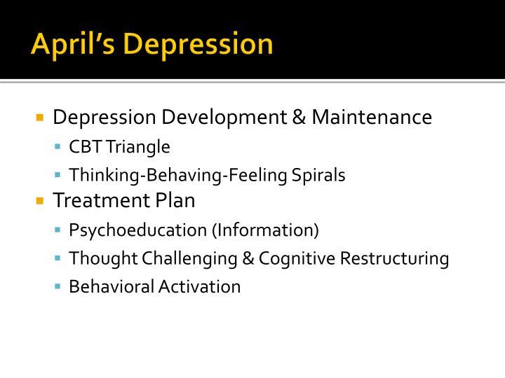 April's Depression
