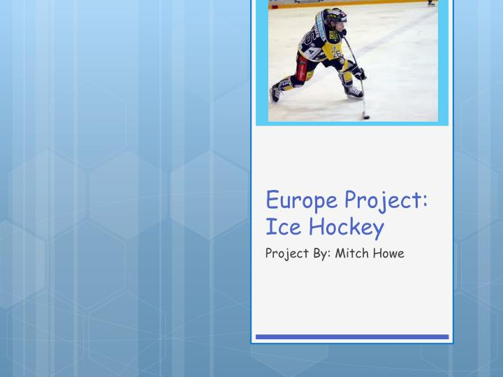 Europe project ice hockey
