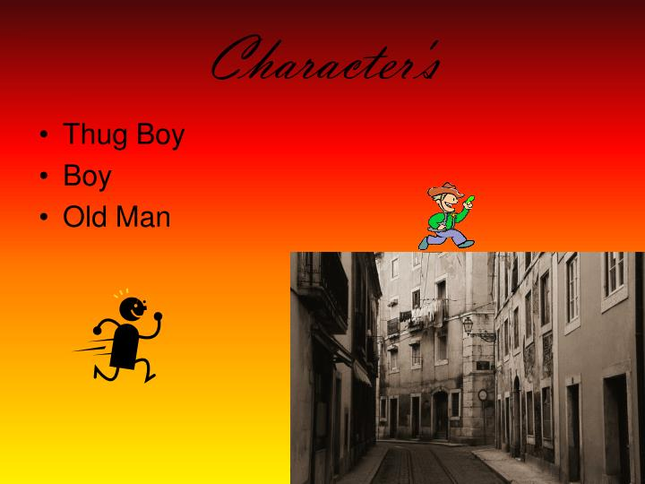 Character's