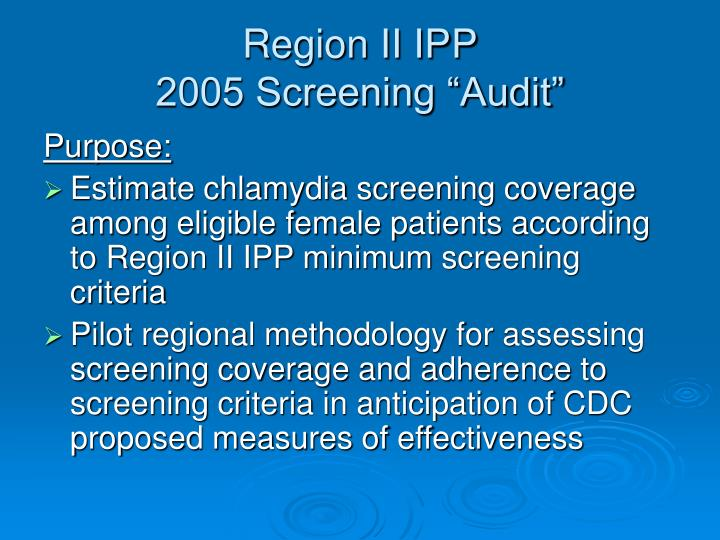 Region II IPP