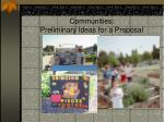 community food security in farmworker communities preliminary ideas for a proposal