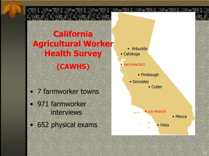 California Agricultural Worker Health Survey