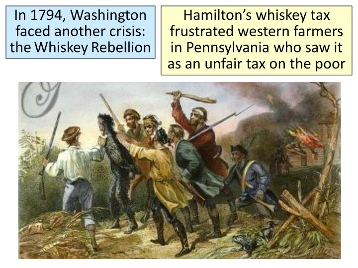 In 1794, Washington faced another crisis: the