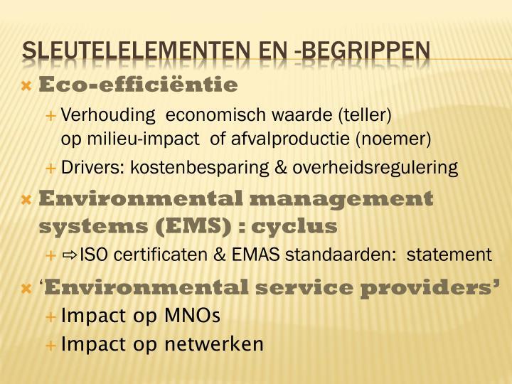 Eco-efficiëntie