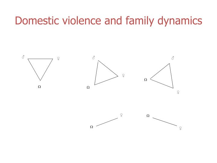 Domestic violence and family dynamics