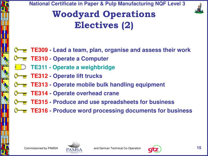 Woodyard Operations