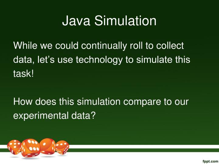 Java Simulation