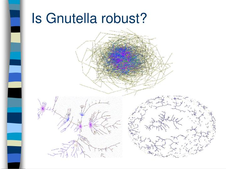 Is Gnutella robust?