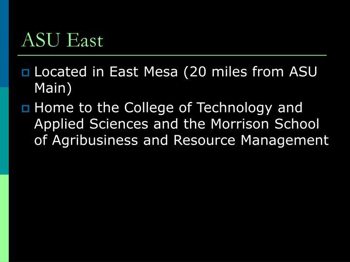 ASU East