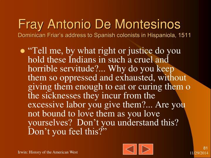 Fray Antonio De