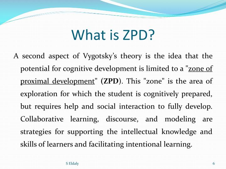 What is ZPD?
