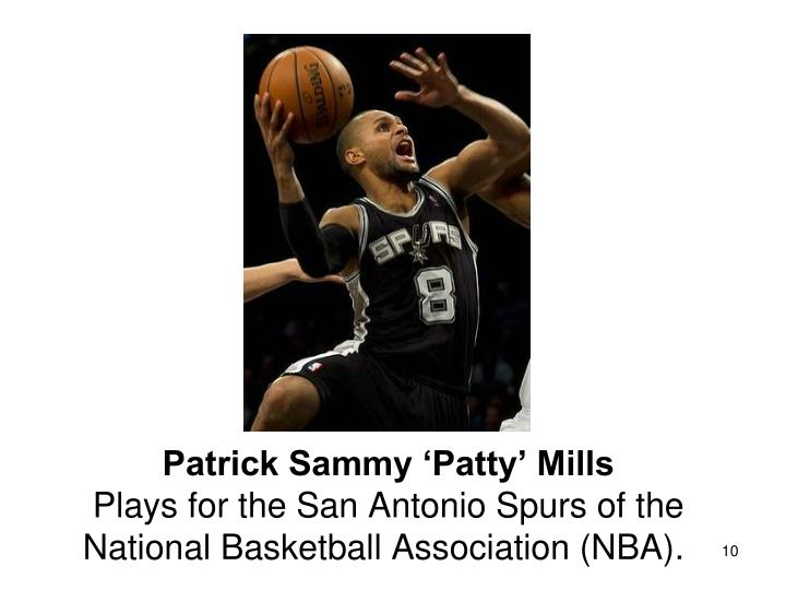 Patrick Sammy 'Patty' Mills