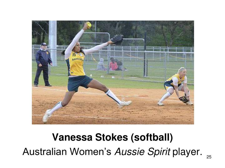 Vanessa Stokes (softball)