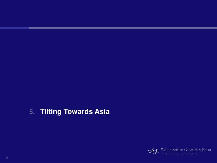 Tilting Towards Asia