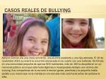 casos r eales de bullying