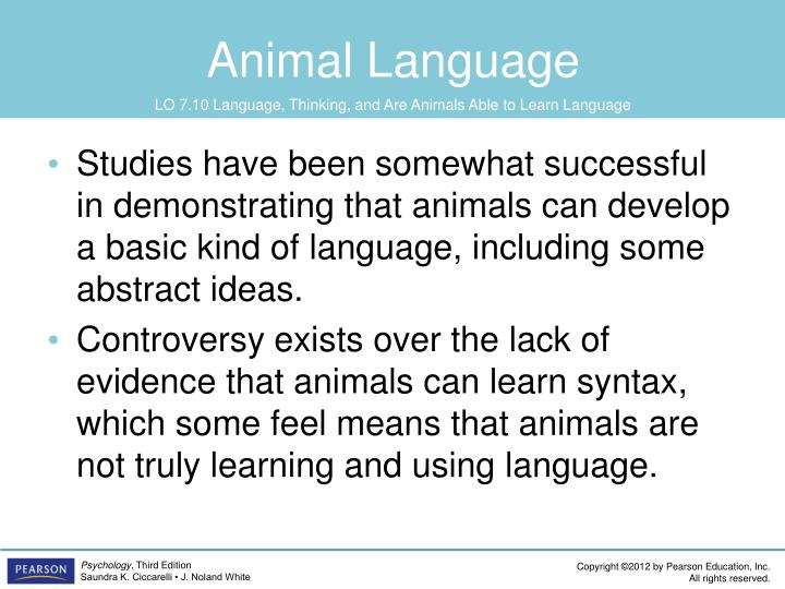 Animal Language