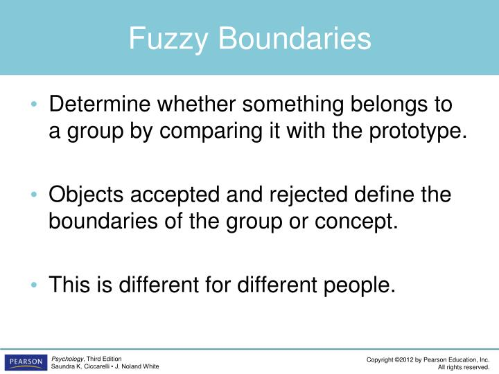 Fuzzy Boundaries