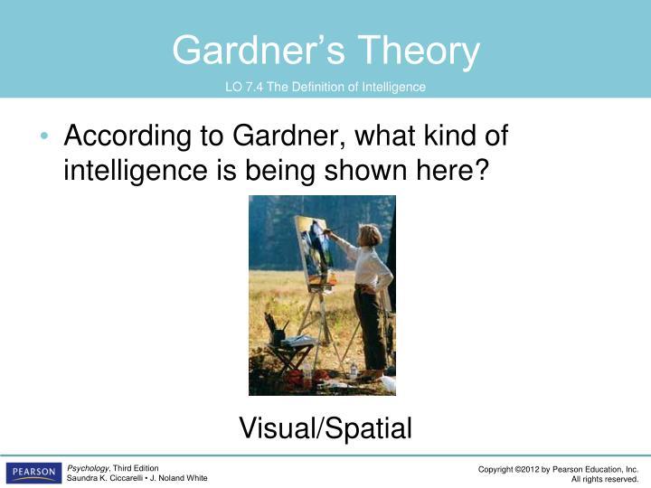 Gardner's Theory